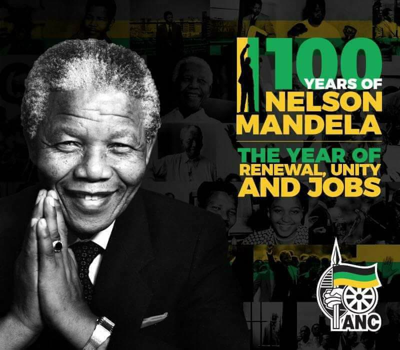100 Years Of Nelson Mandela Anc Northern Cape